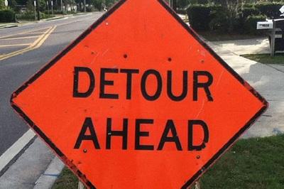 Medium detour