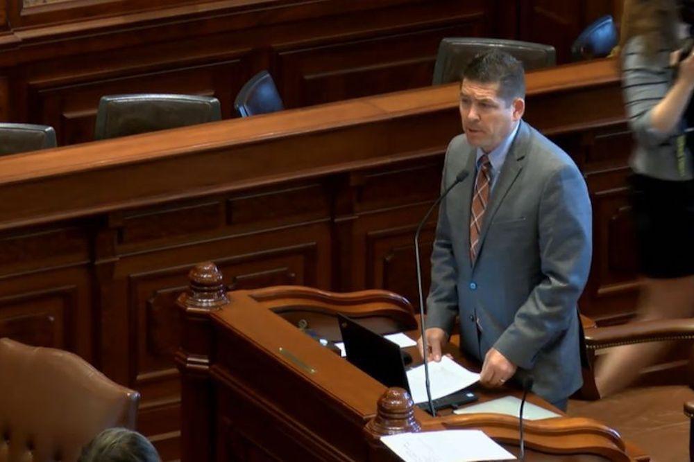 Sen. Kyle McCarter (R-Lebanon)