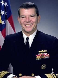 William L. Schachte, Real Admiral U.S. Navy (ret).