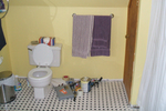 Changing color schemes in the bathroom can be a bit less work than other areas.