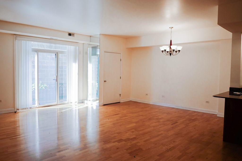 The condo located at 680 N. Green St in River West, currently offered for $429K, had a 2016 property tax bill of $$7,081.