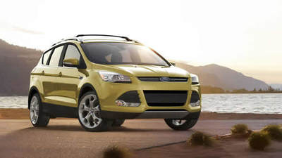 The 2015 Ford Escape Titanium is one of the higher-priced models in the Ford crossover-SUV family.