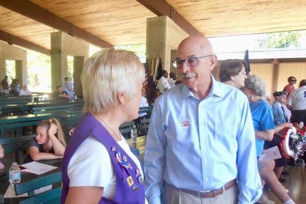 Republican state House candidate Dan Caulkins
