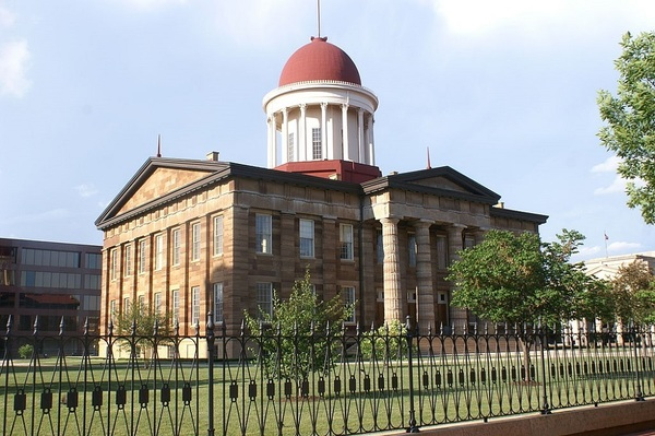 A merger in the Illinois Department of Natural Resources has created the Division of Historic Sites, which operates places and buildings important to the state's heritage such as the Old State Capitol in Springfield.