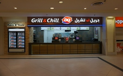 A new DQ Grill & Chill recently opened at the Marina Mall in Salmiya, Kuwait.