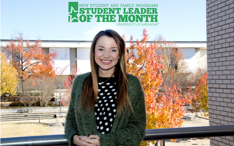Madison Cole names student leader for November