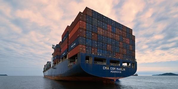 Large cargo ship 10