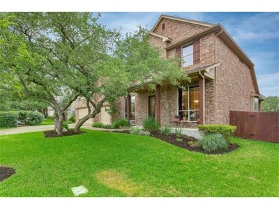 This gorgeous home is located in Austin's desirable Circle C Ranch community.
