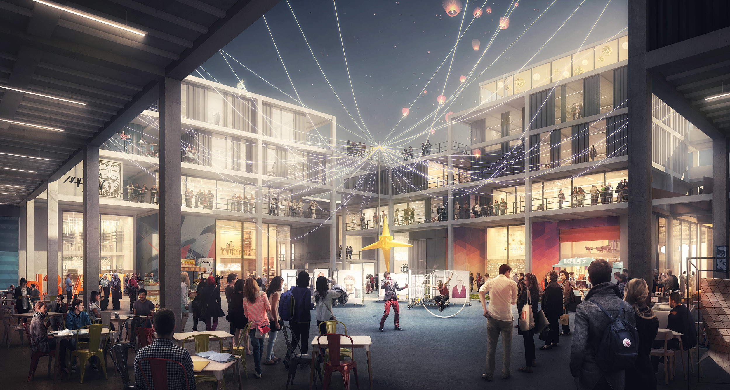 Dubai Design District (d3) has revealed development plans for a dedicated Creative Community which will cover around 1,000,000 square feet within d3.