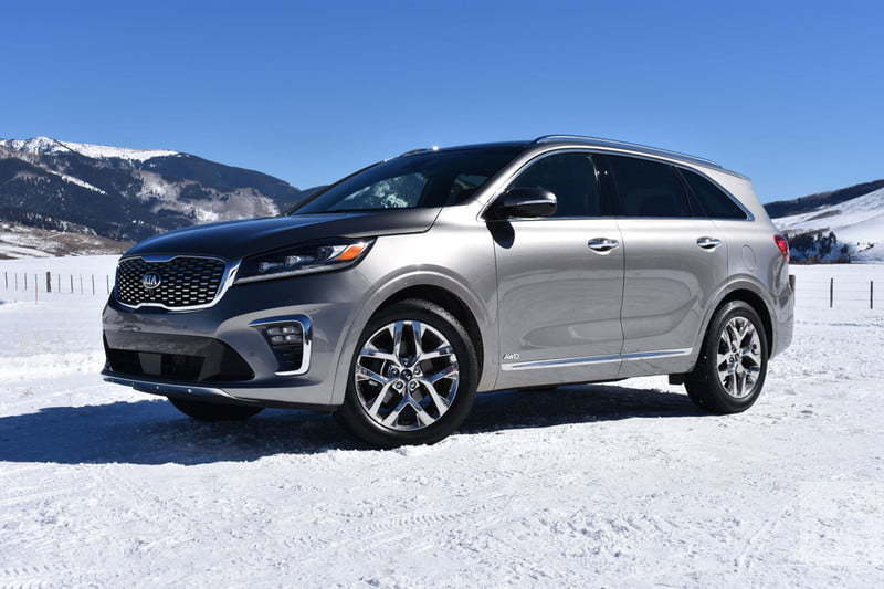 The Sorento is long known for its sturdy designs and high performance.