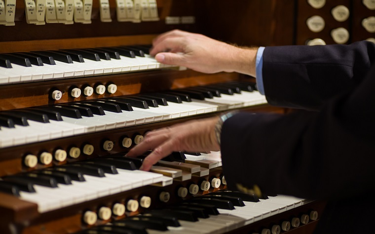 Haig Mardirosian has been a concert organist for 50 years.