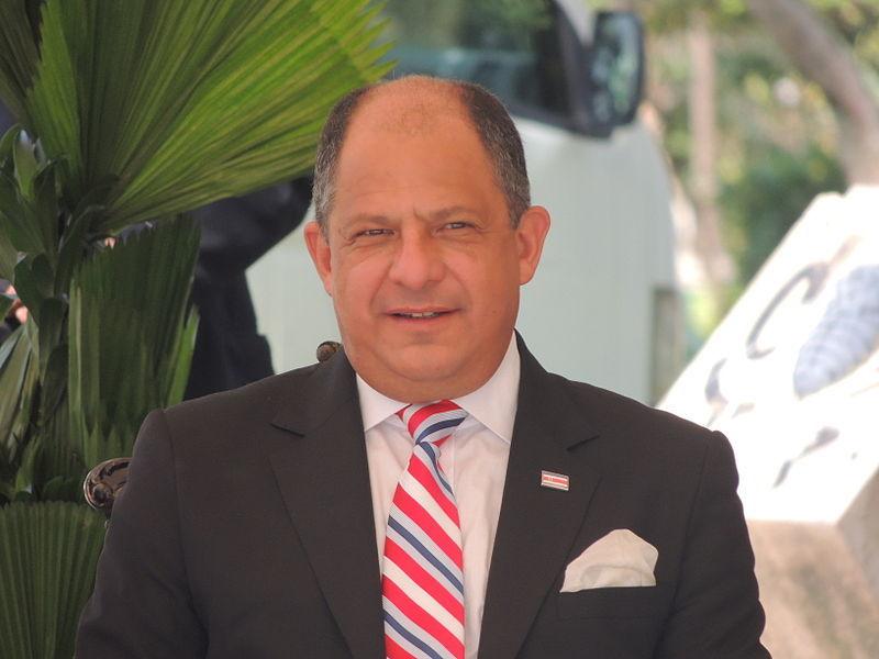Costa Rican President Luis Guillermo Solis