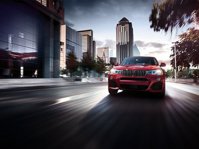 The BMW X4 features a distinctive exterior.