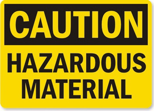 Medium hazardousmaterials