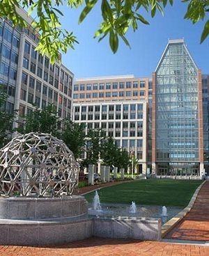The U.S. Patent and Trademark Office in Alexandria, Va.