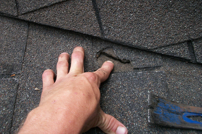 Even a small bit of damage in a roof can lead to more expensive problems if not repaired.