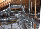 Problems with ductwork in the attic can be a source of extra expenses.