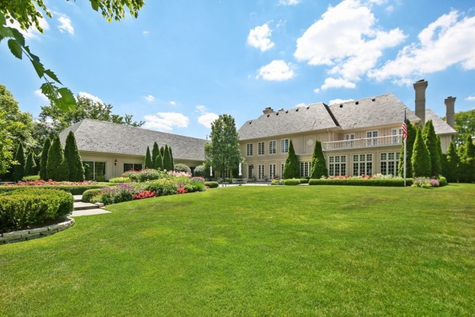 Ryan's Hinsdale estate recently sold for $3.5 million.