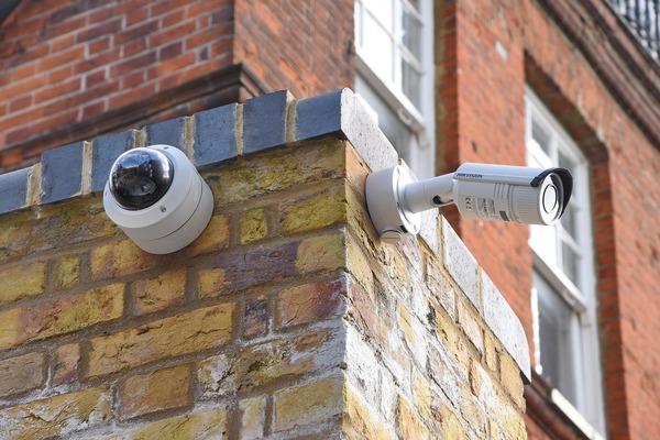 Large securitycameras