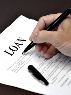 Large loanlending