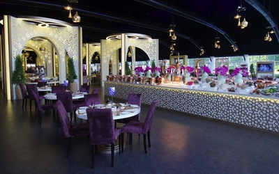 The Downtown tent will serve traditional Arabian and contemporary cuisine to mark Ramadan.