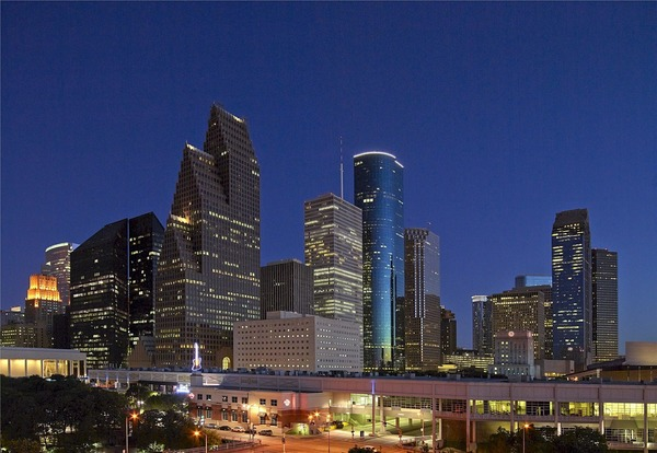 Large houstondowntown