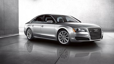 The 2014 Audi A8
