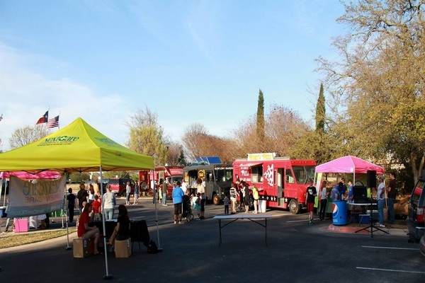 A food-truck festival