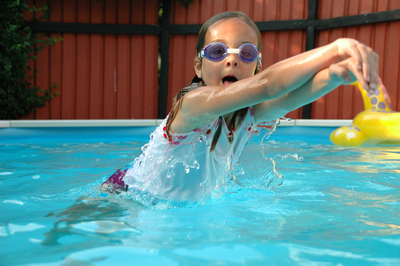 Pools are a fountain of fun in the summer, but safety precautions are a must.