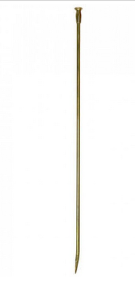 Solid brass blow poke fireplace tool, $74.95