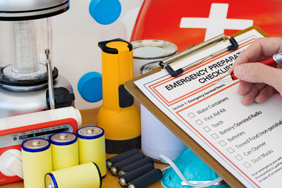 Building a disaster-preparedness kit is one of the most important steps you can take to keep your home, you and your family safe.