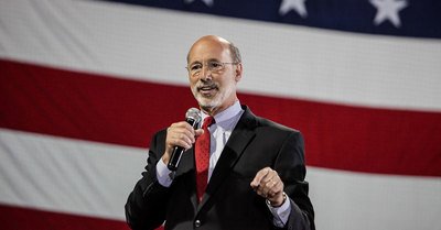 Governor-elect Tom Wolf plans to impose a 5 percent severance tax on natural gas drillers.