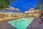 Every bedroom in this Dripping Springs home overlooks the resort-style pool.