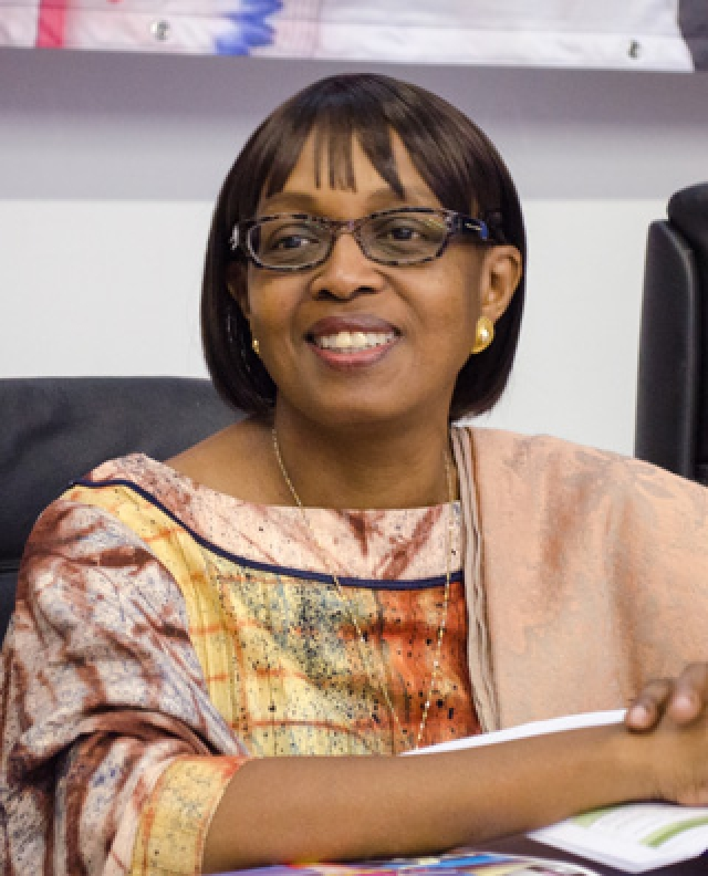 Dr. Matshidiso Moeti was selected as the Regional Director for Africa.