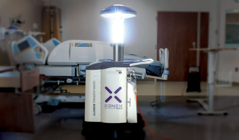 Xenex robots reduce infections as disinfecting rooms