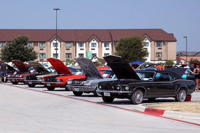 The annual Mustang Roundup is a favorite for fans of the iconic Ford sports car.