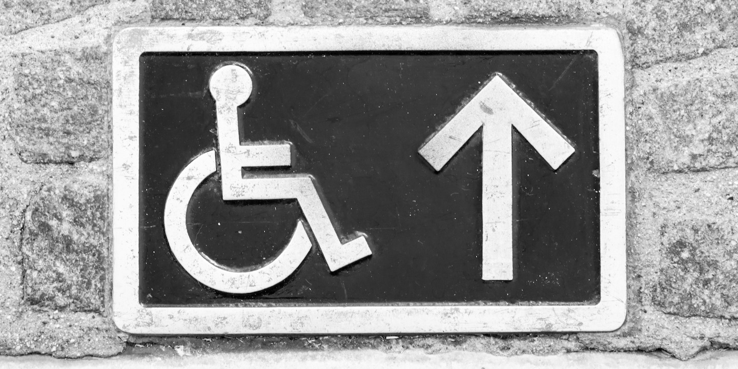 Handicapped sign 08
