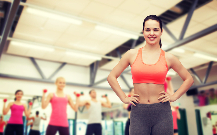 Even moderate exercise levels have been shown to decrease young women's risk of heart disease.