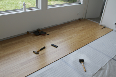 Bamboo is becoming a more popular option for creating hardwood floors.