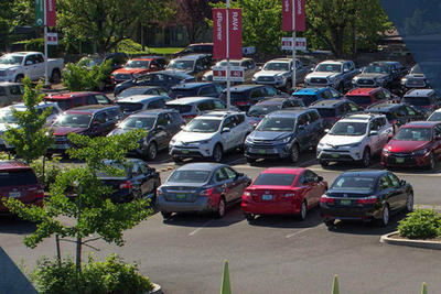 Russ Humberston's Beaverton Toyota staff of 245 sells roughly 6,000 new and used vehicles per year.