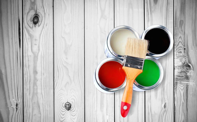PPG Industries produces paints and other coatings.