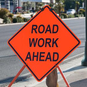 Rock Island announces road closure.