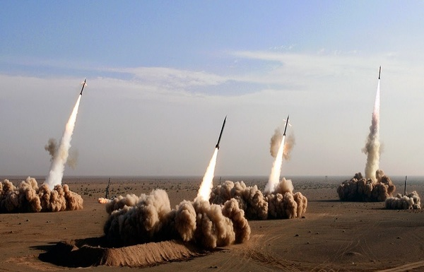 Iran has the largest ballistic arsenal in the Middle East.