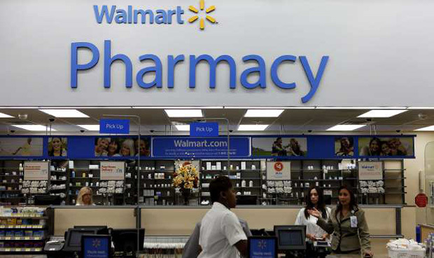 Walmart pharmacies have adopted a medication therapy management (MTM) system developed by SinfoníaRx.
