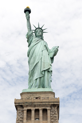 Arrest made in Statue of Liberty bomb hoax.