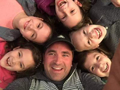 Realtor Cord Shiflet (center) loves spending time with family and friends.