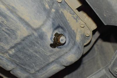 An oil drain plug. (Dreamstime/TNS)