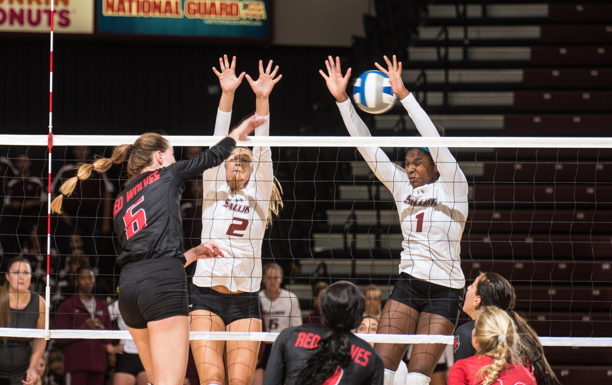 SIU's volleyball team's season is underway.