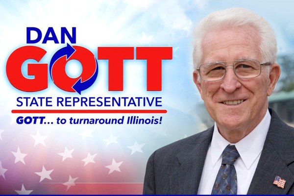 Gott recently described local seniors as disgruntled with Springfield's ongoing budget impasse.