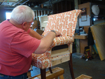With a bit of work, most fabric furniture can be salvaged or improved.